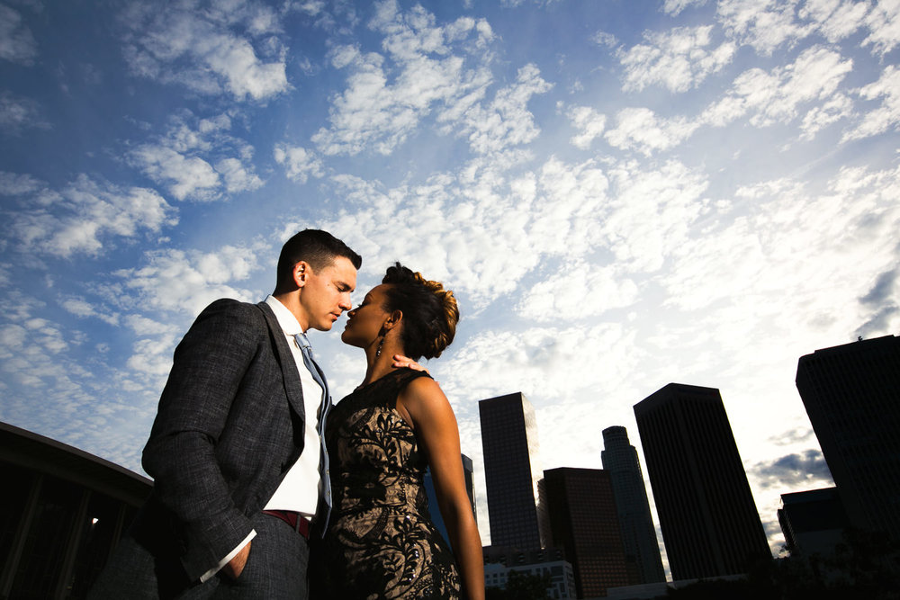 LADWP Building Engagement Photo of Couple in Love