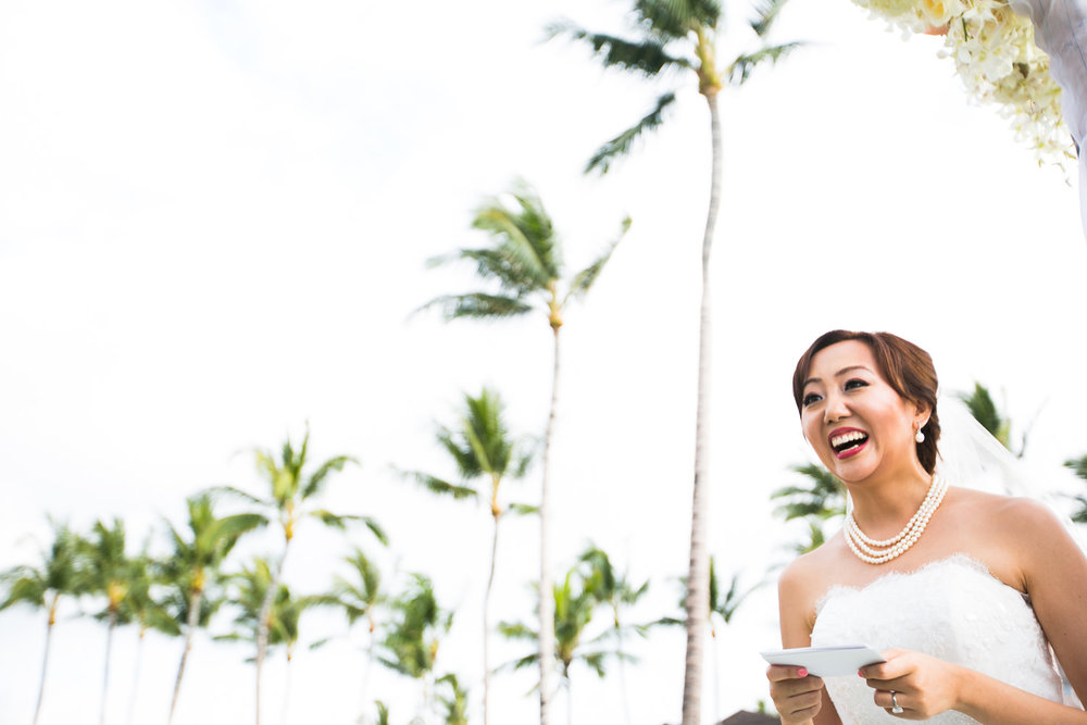orgeous Ceremony at Four Seasons Hualalai Wedding