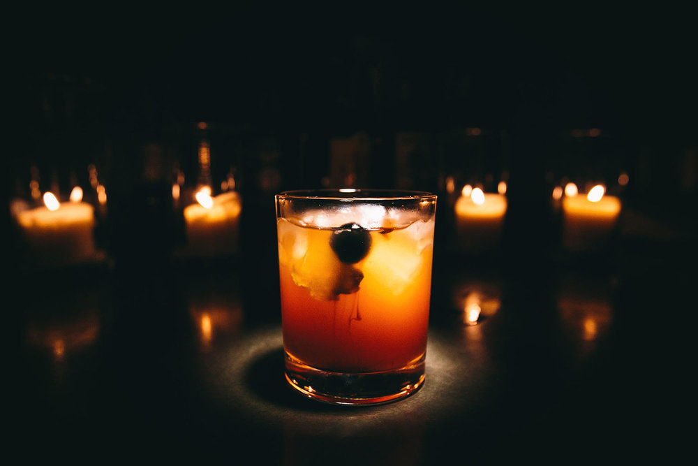 Signature cocktail at a Los Angeles wedding