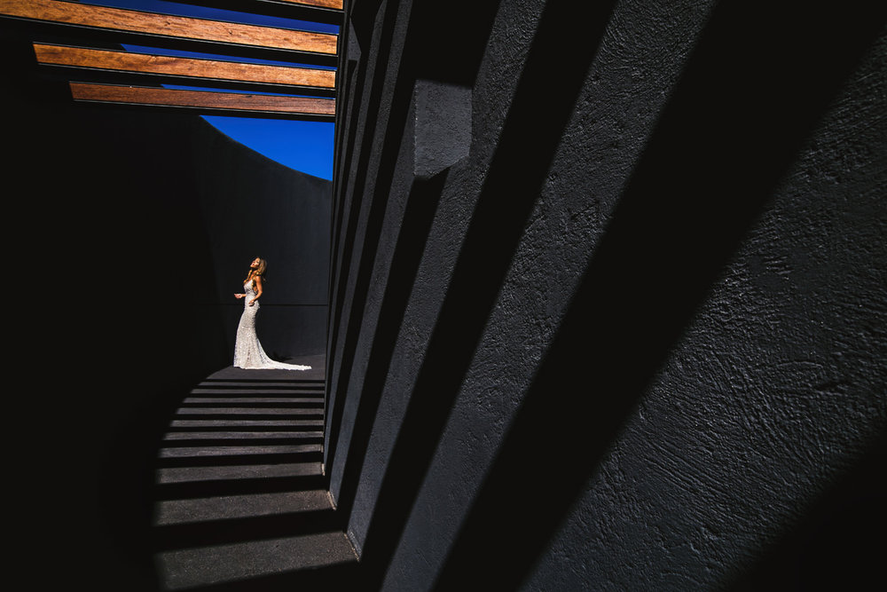 Beautiful Bride Portrait at Viceroy Los Cabos wedding