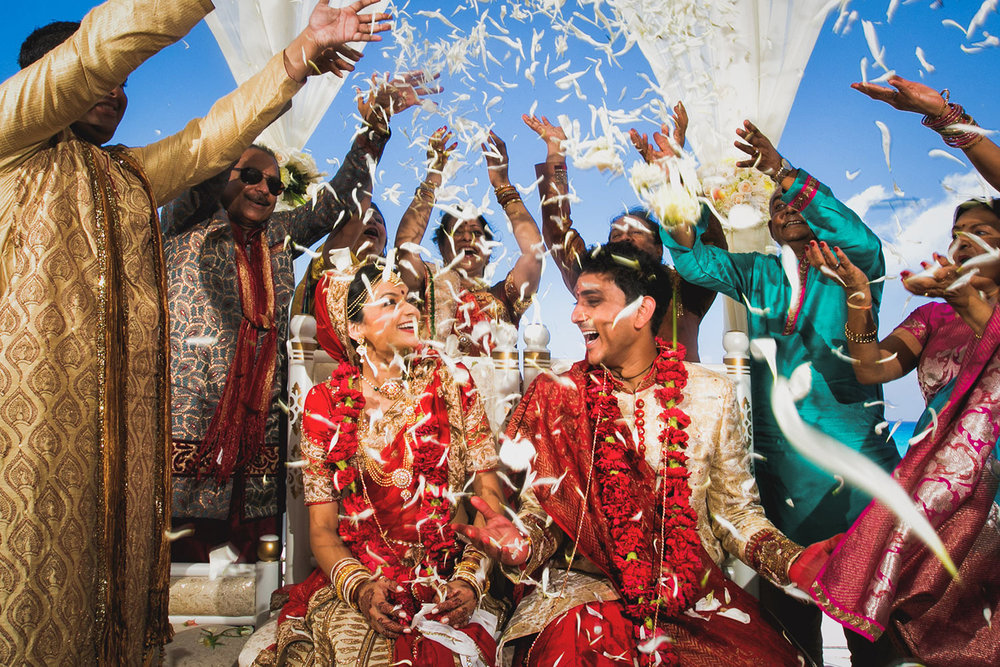 Amazing Indian Wedding Ceremony in Cancun Mexico