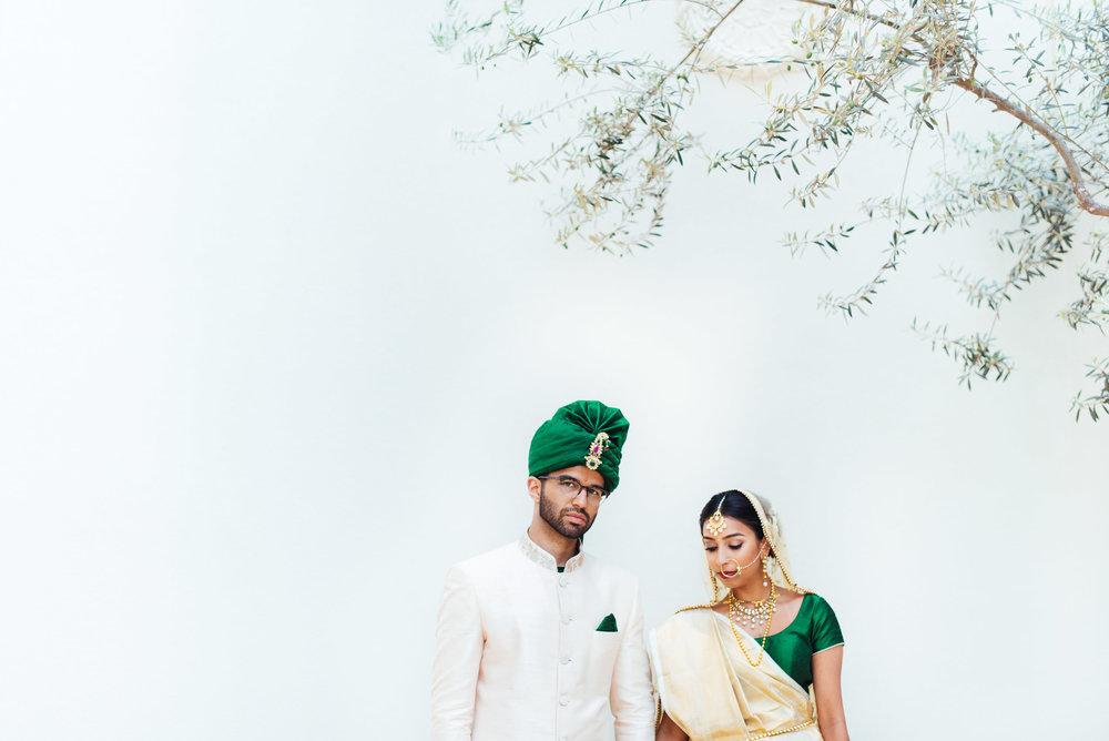 Monarch Beach Resort Hindu wedding photo of Bride and Groom