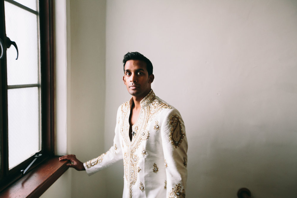 Vibiana South Asian Wedding Groom