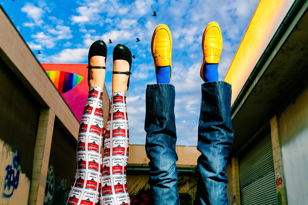 Great Idea for fun Los Angeles Engagement Session