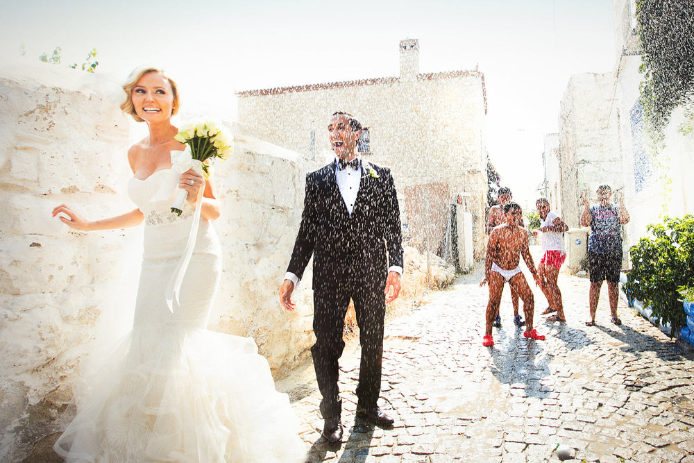 Persian and Turkish Destination wedding in Alacati Turkey