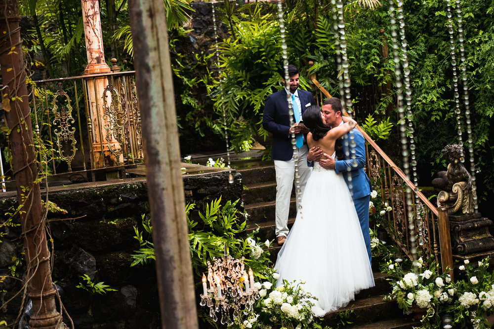 Haiku Mill Wedding in Maui Hawaii