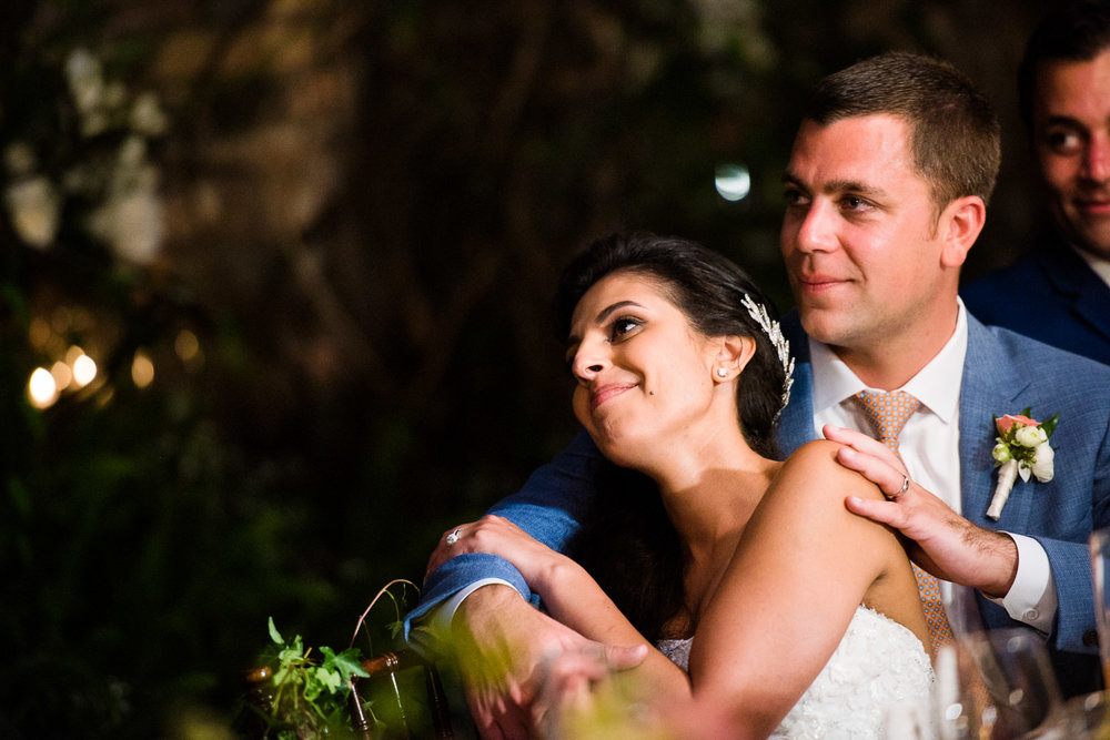 Gorgeous reception at Haiku Mill wedding on Maui