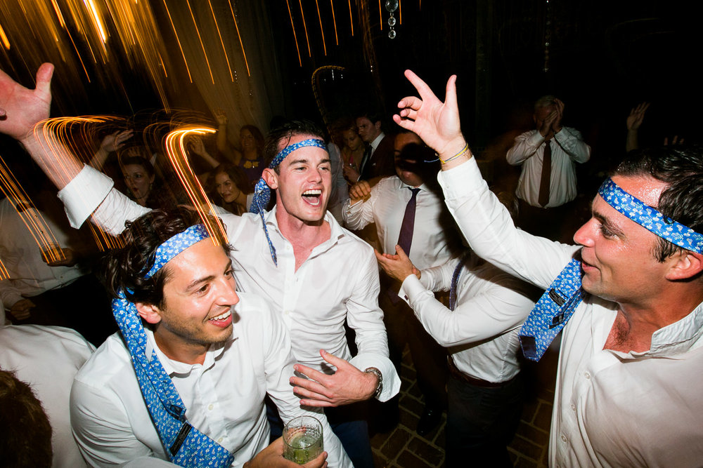 Party time at an amazing Haiku Mill wedding on Maui