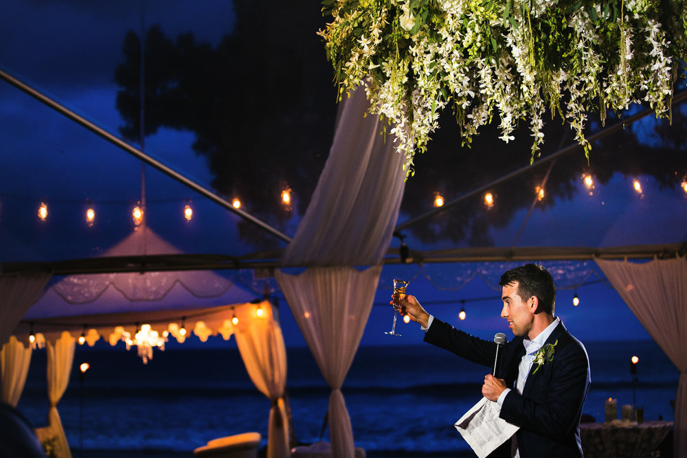 Great ideas for Olowalu Plantation House wedding reception