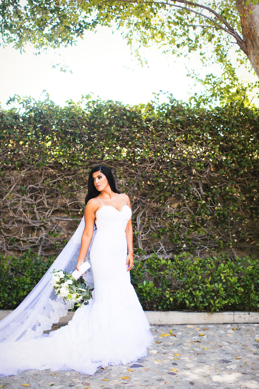 Hummingbird Nest Ranch Wedding - Wedding Dress