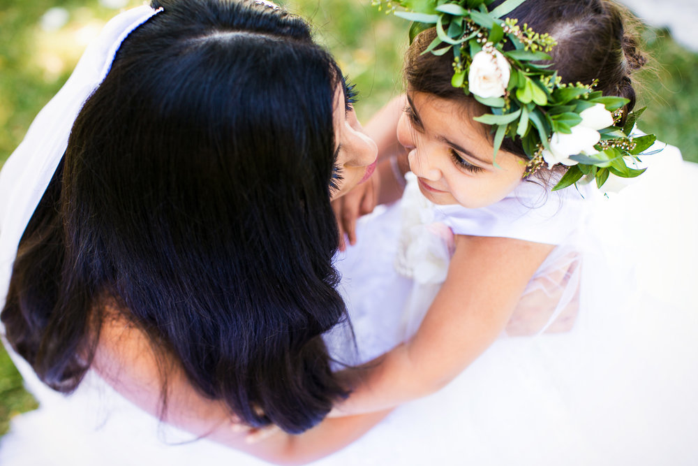 Hummingbird Nest Ranch Wedding - Persian Bride With Child