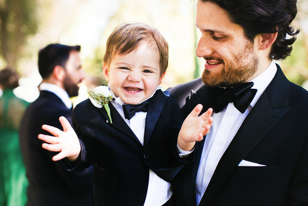 Hummingbird Nest Ranch Wedding - Cute Kid