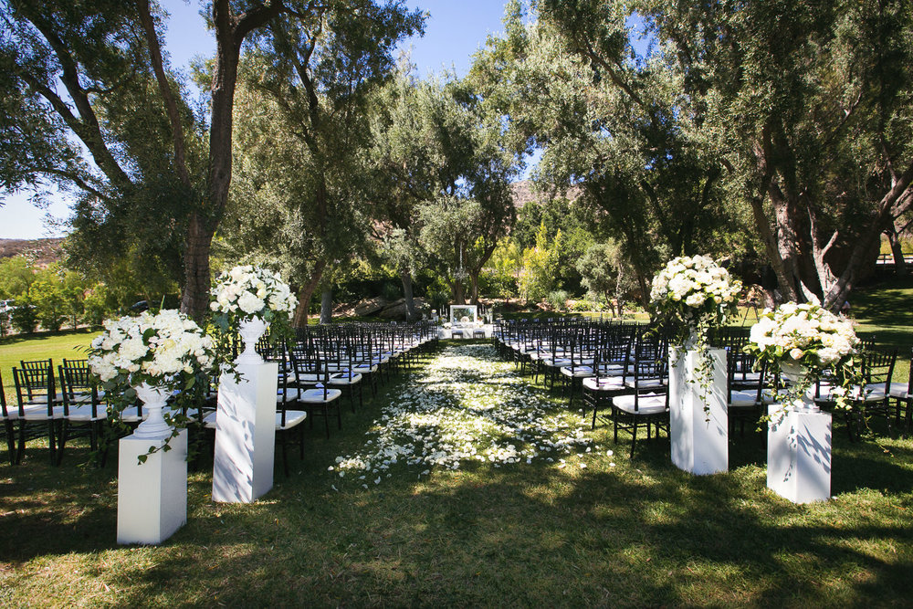 Hummingbird Nest Ranch Wedding - Persian Wedding Ceremony
