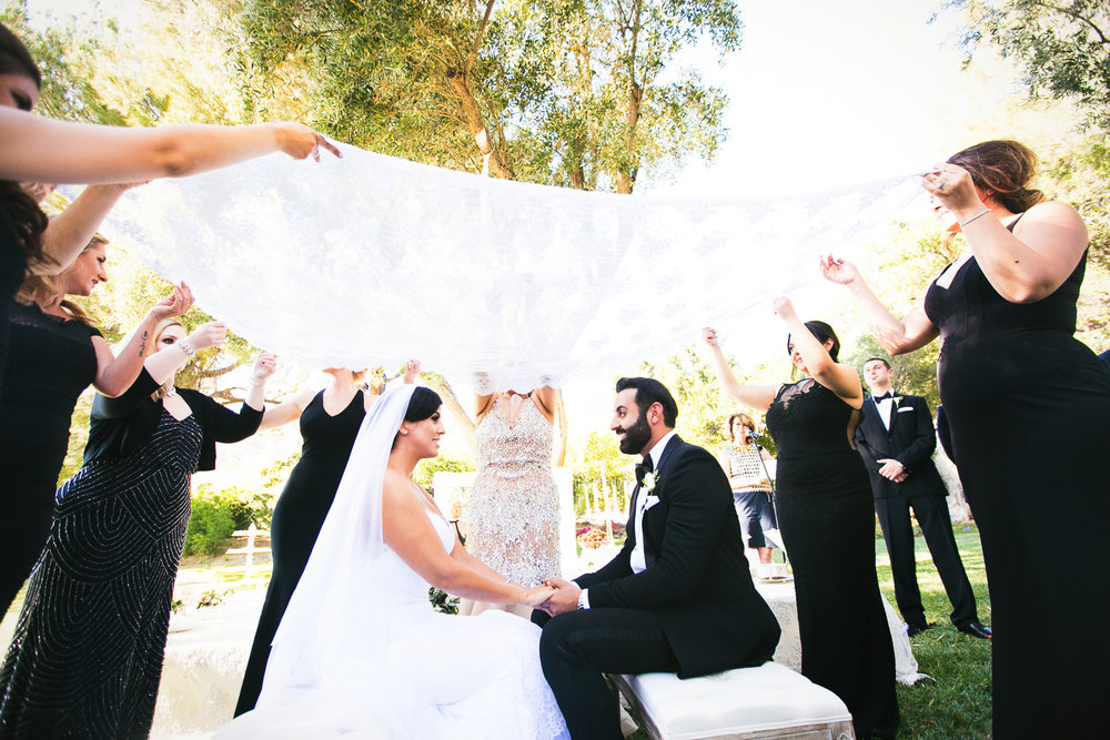Hummingbird Nest Ranch Wedding - Persian Wedding Tradition