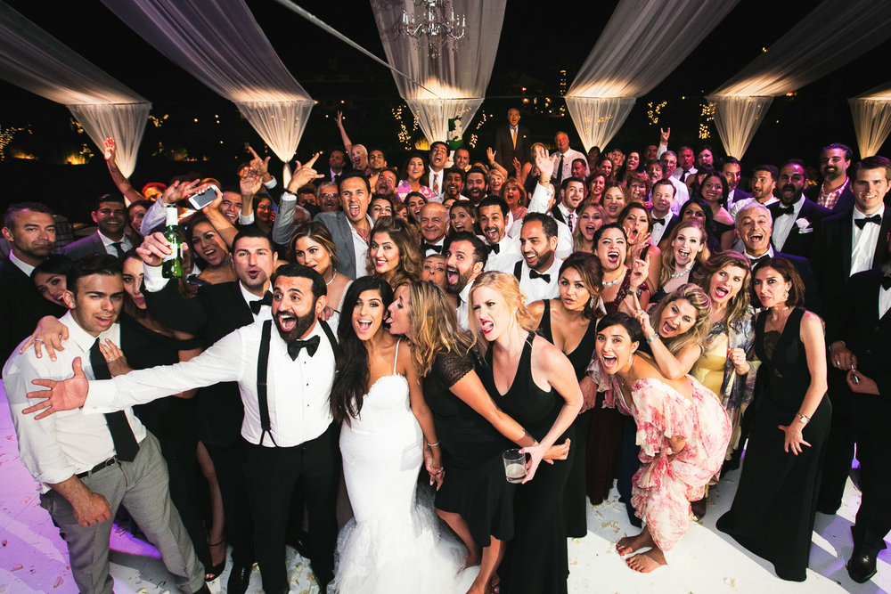 Hummingbird Nest Ranch Wedding - Persian Wedding Group Shot