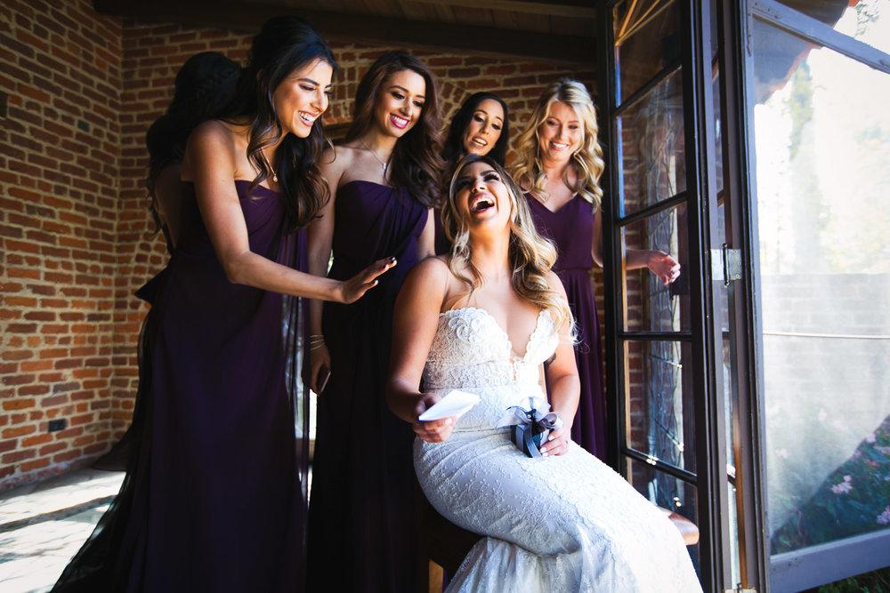 Sheva and her girls at Hummingbird Nest wedding by Callaway Gable