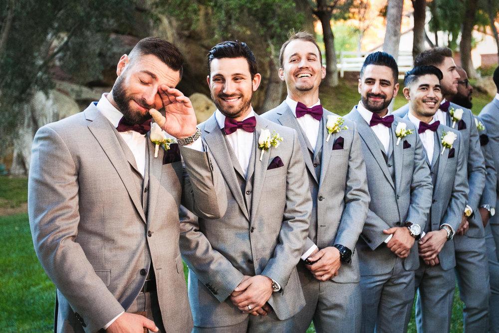 more emotional moments at Hummingbird Nest wedding by Callaway Gable