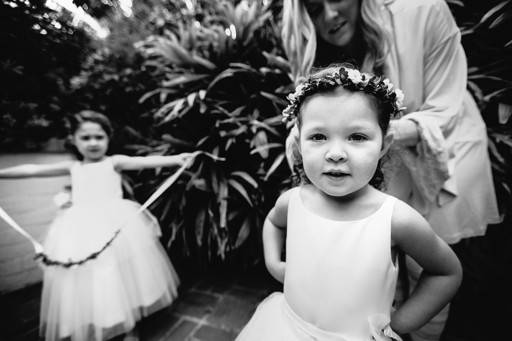 Four Seasons Santa Barbara Wedding - Flower Girls