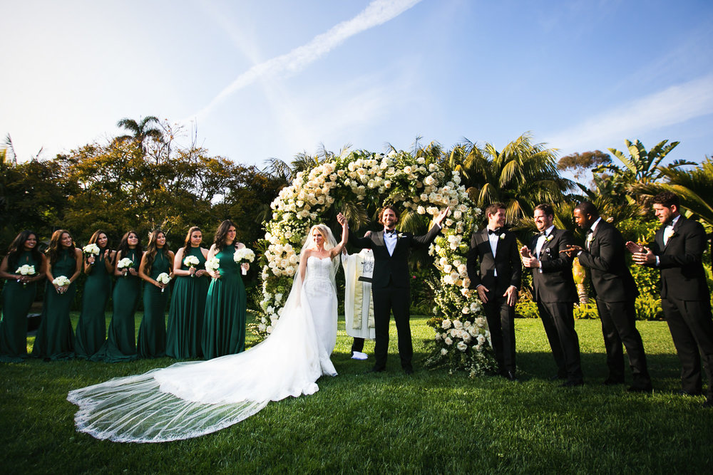 Four Seasons Santa Barbara Wedding - Just Married