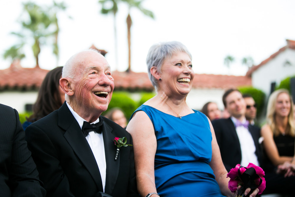 Same Sex Avalon Palm Springs Wedding - Family Joy