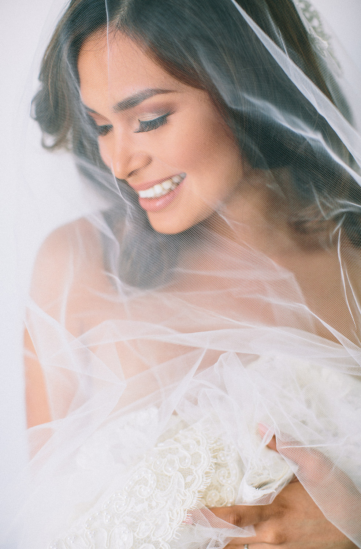 Los Olivos Wedding - Soft Bridal Shot