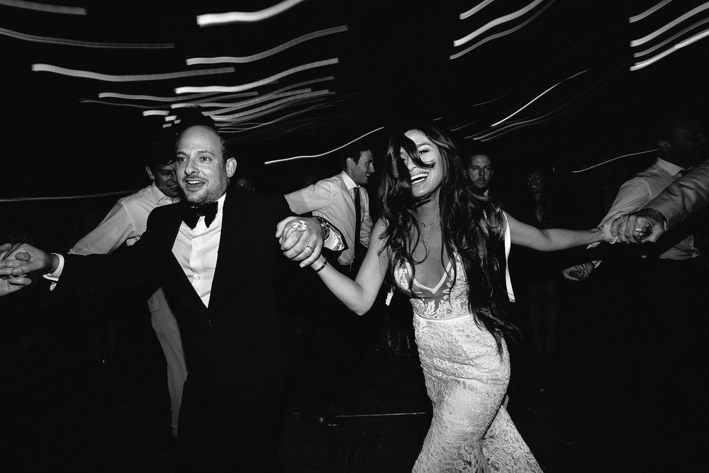 Los Olivos Wedding - Dancing at the Wedding Reception
