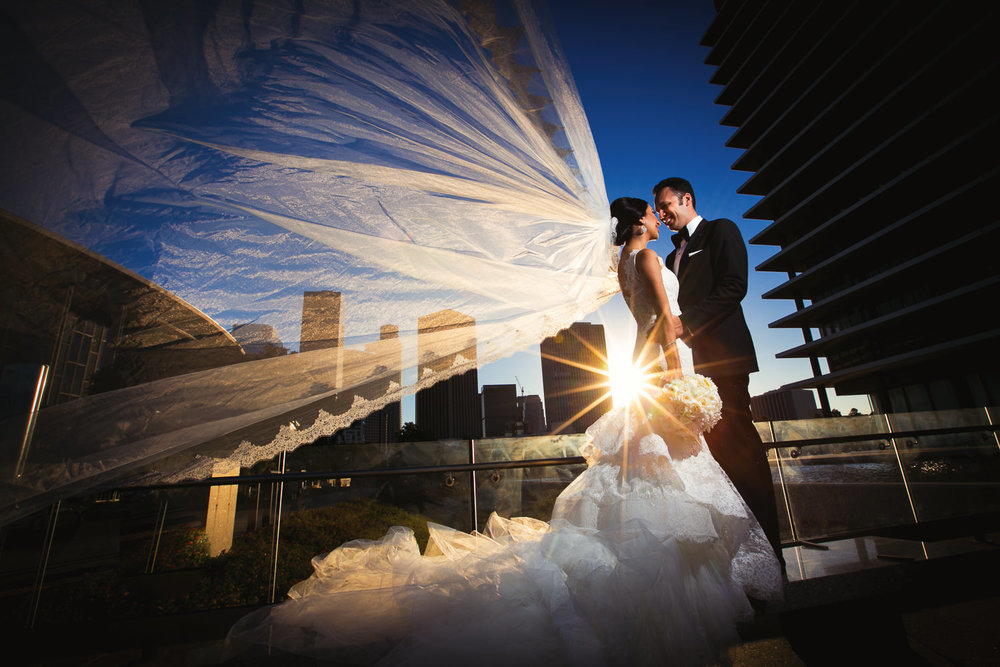 City Club LA wedding - Gorgeous LADWP Building Shot