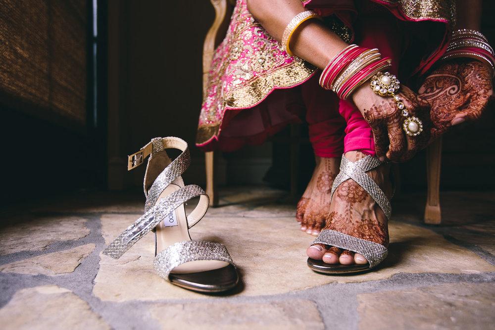 Trump National Golf Club Wedding - Bride's Accessories