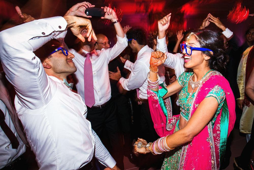 Trump National Golf Club Wedding - Groom Dancing With Bride