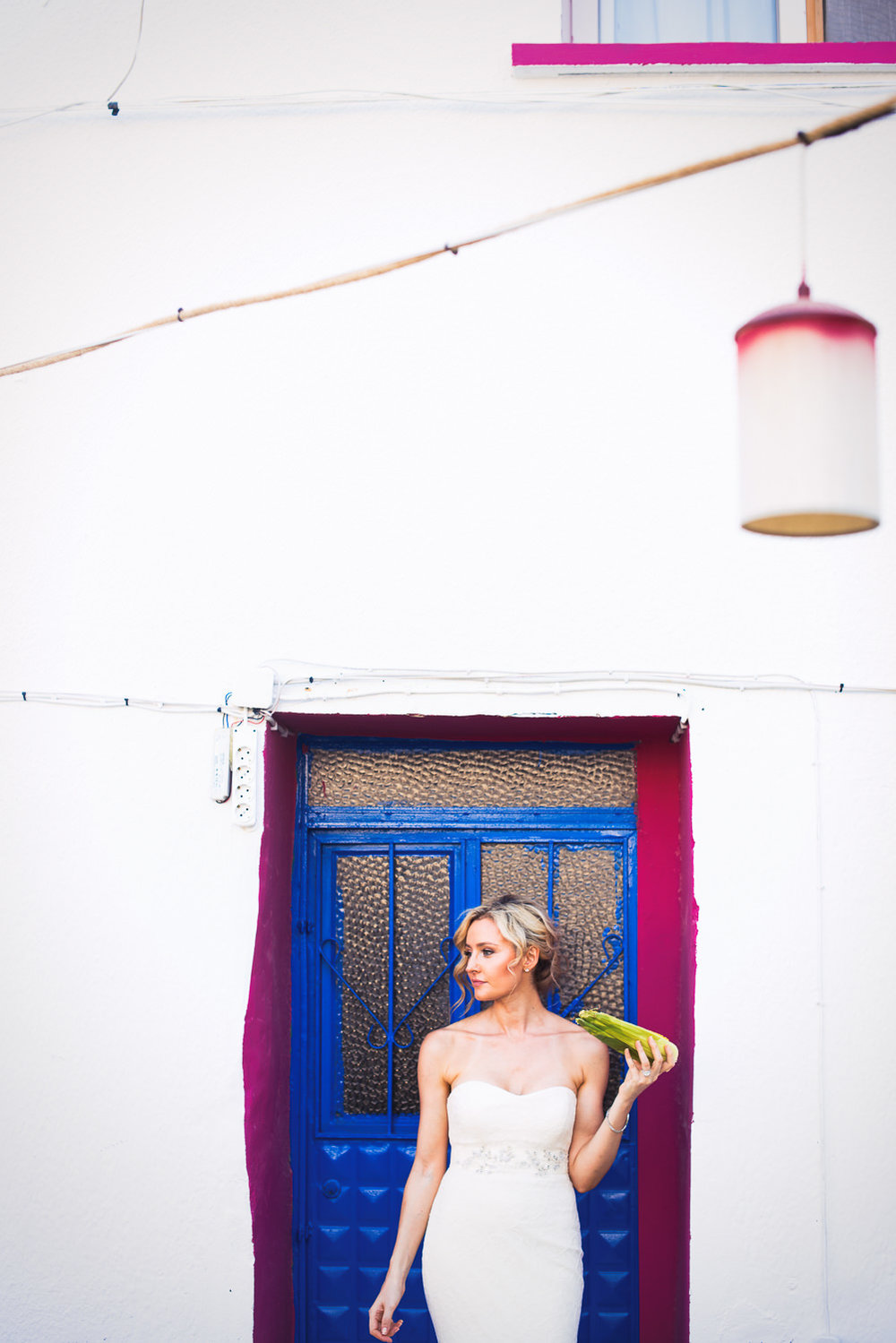 Turkey Wedding - Beautiful Shot of Bride in Doorway