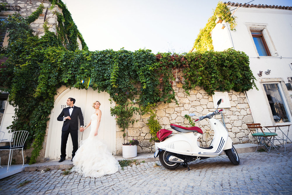 Turkey Wedding - Hand in Hand in American Destination Alcati