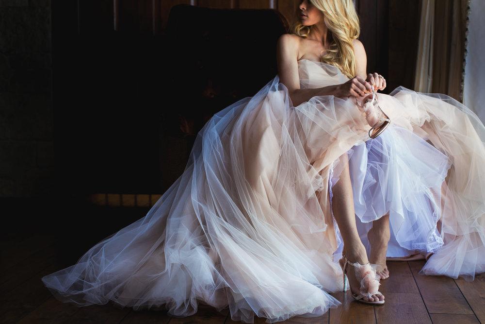 Malibu Rocky Oaks Photographer - Beautiful Bridal Dress