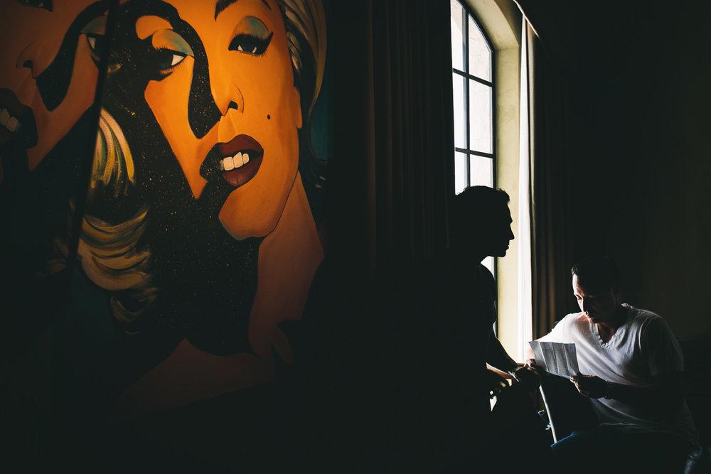Malibu Rocky Oaks Photographer - Groom getting ready