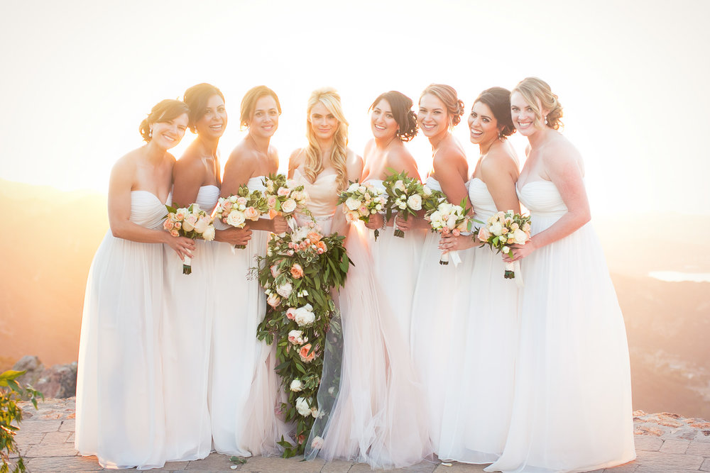 Malibu Rocky Oaks Photographer - Bridal Party