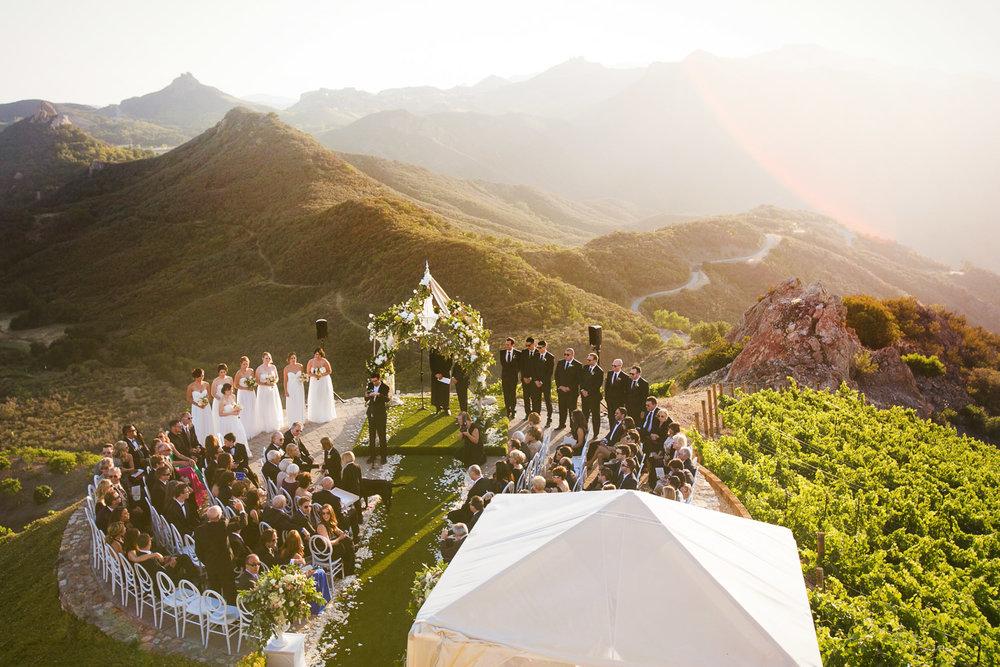 Malibu Rocky Oaks Photographer - Gorgeous Wedding Ceremony