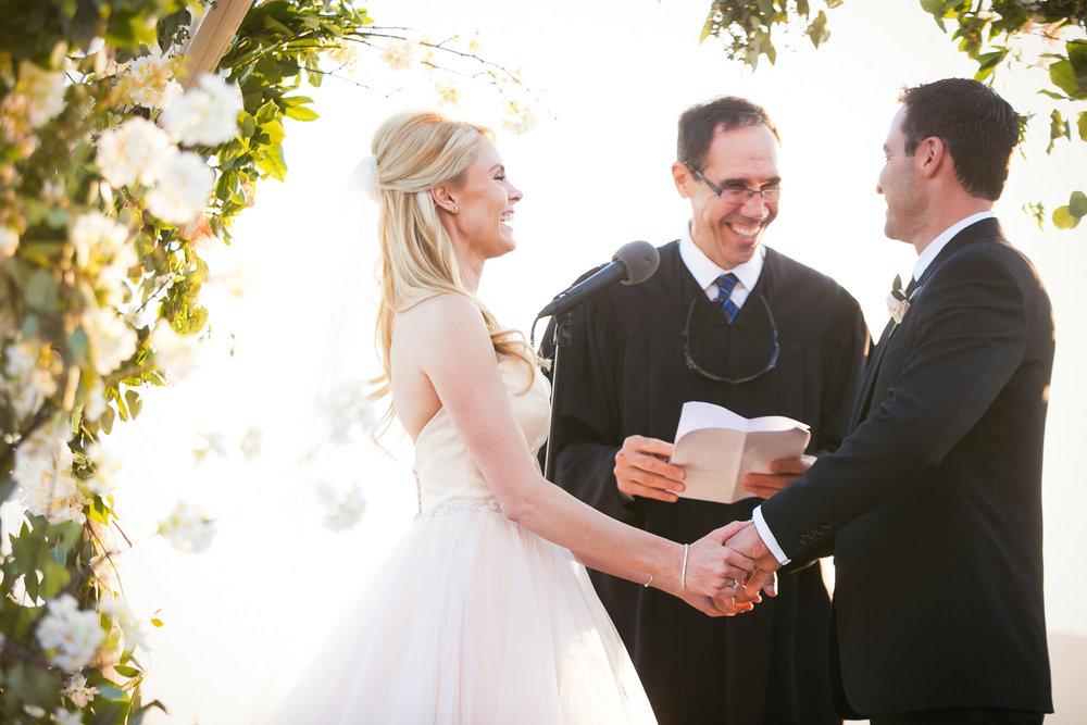 Malibu Rocky Oaks Photographer - Amazing Photo of Bride and Groom