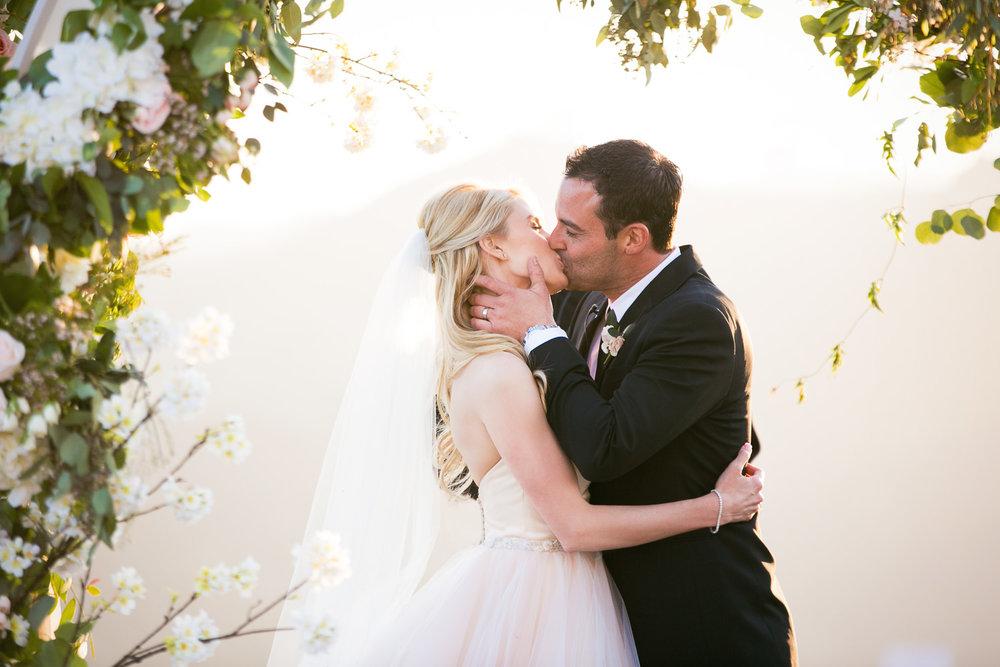 Malibu Rocky Oaks Photographer - Kissing the Bride