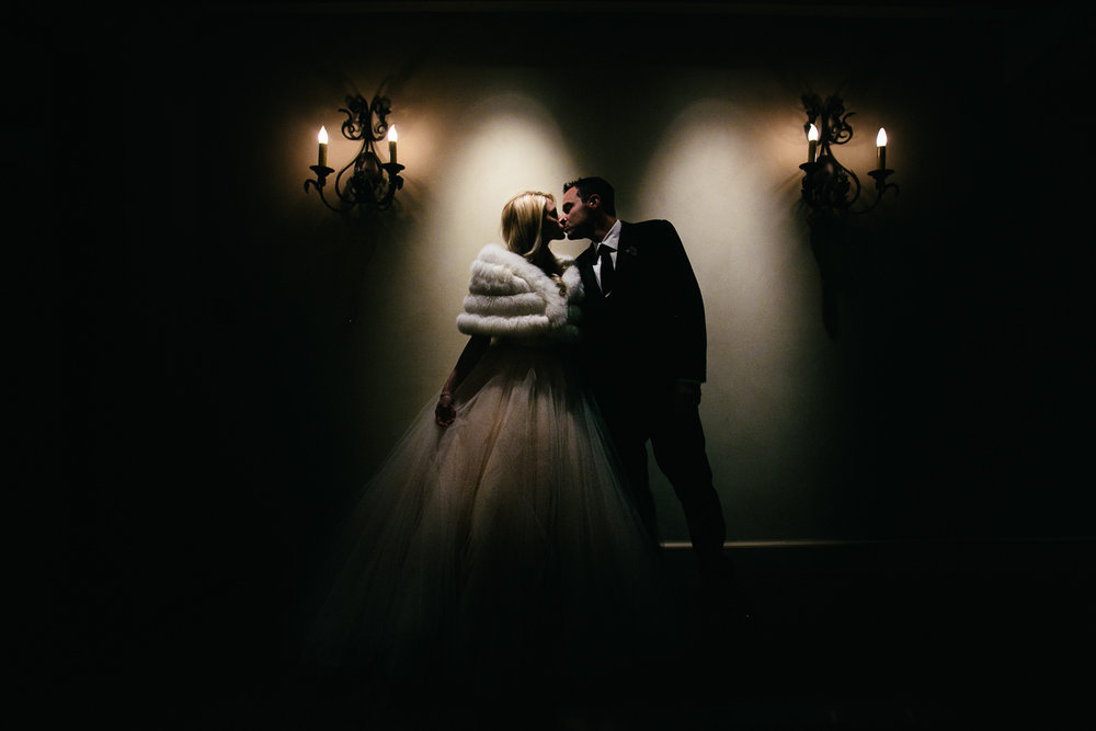 Malibu Rocky Oaks Photographer - Kissing Under the Lights
