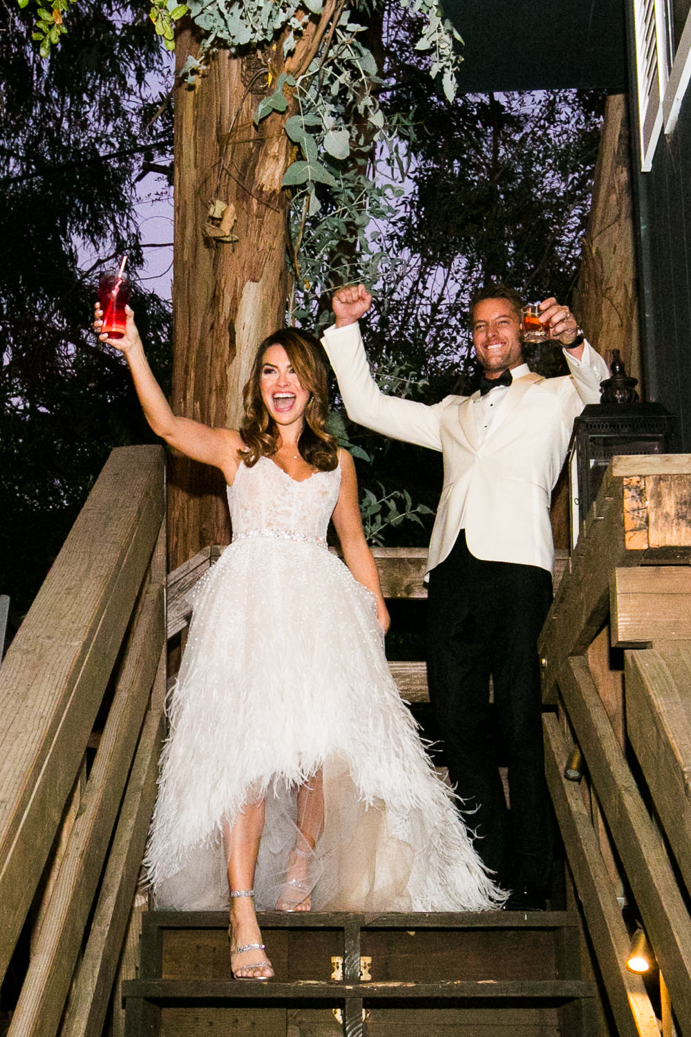 Justin Hartley Wedding in People Magazine at Calamigos Ranch - 8