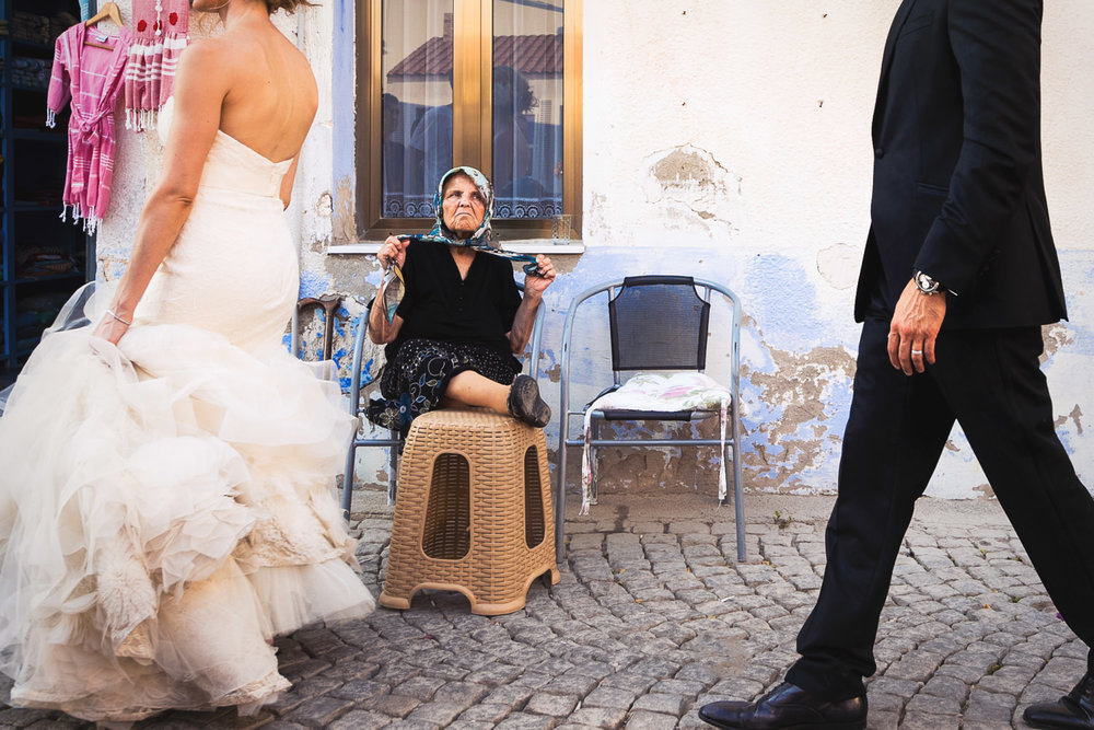 Funny moment as destination Turkey Wedding