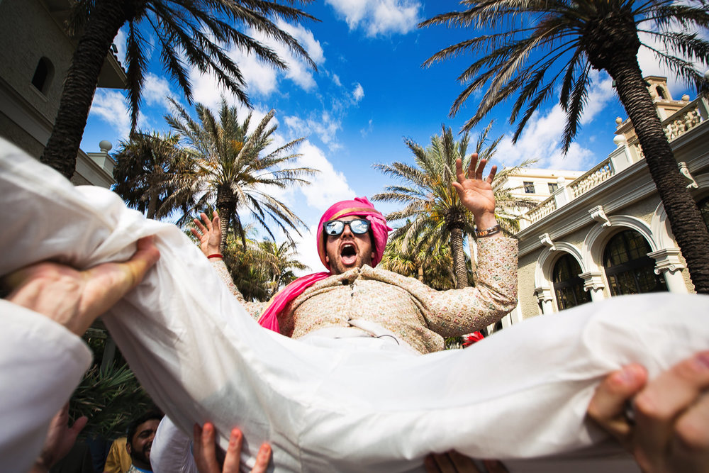 Breakers Palm Beach wedding baraat