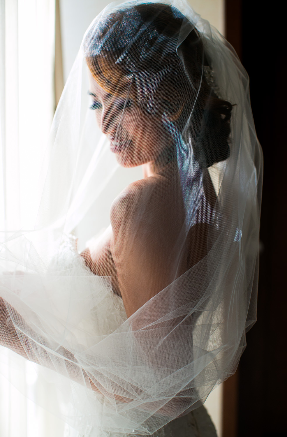 Hyatt Regency Maui Wedding - Bride looking gorgeous