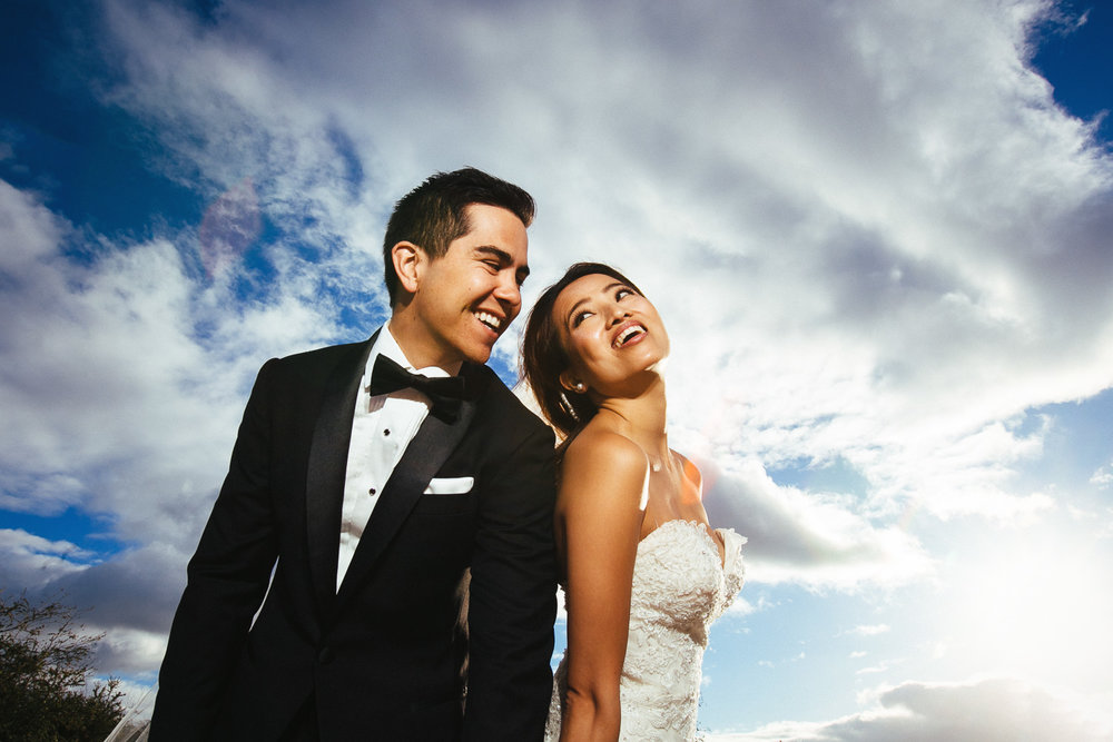 Hyatt Regency Maui Wedding - Together under the sky
