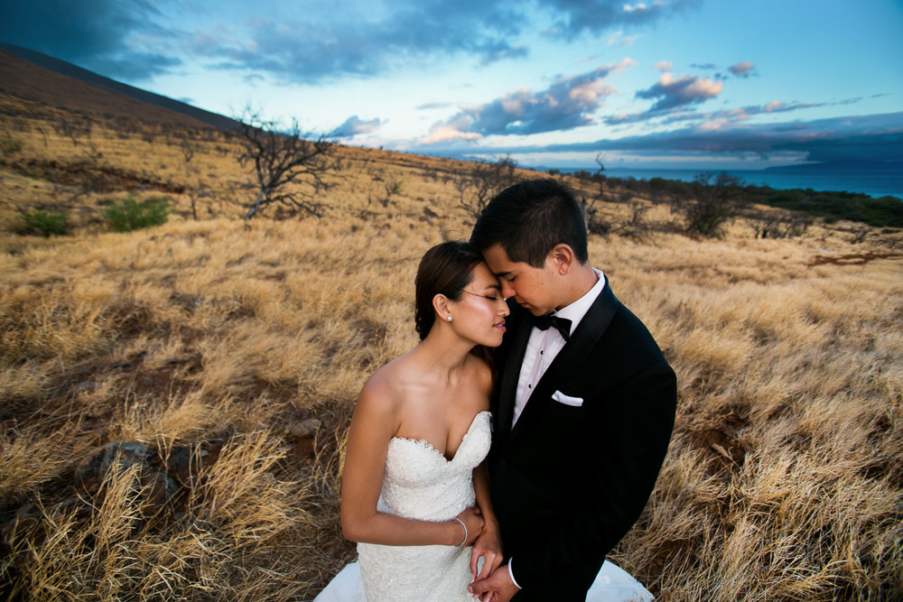 Hyatt Regency Maui Wedding - Loving each other