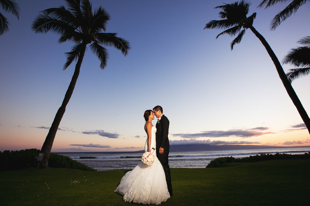 Hyatt Regency Maui Wedding - True love for these newly weds