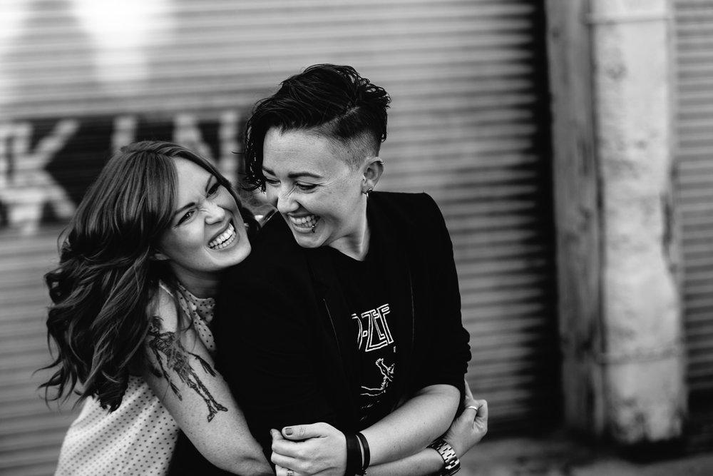 Female Same Sex Los Angeles Engagement