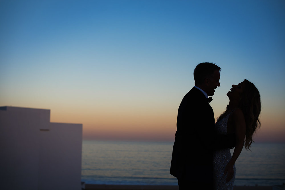 Viceroy Los Cabos Wedding - Stunning sunset