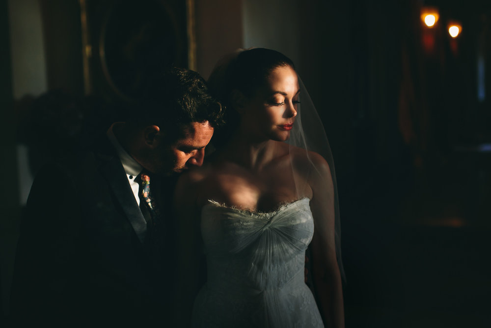 Rose McGowan Wedding at Paramour Estate - Newly weds love