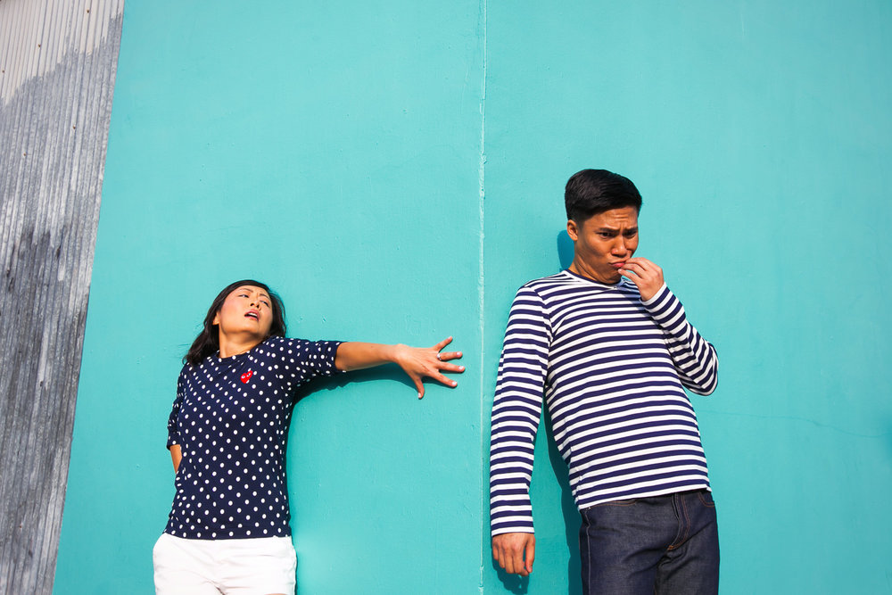 Venice Beach Engagement Photos - Emotions in play