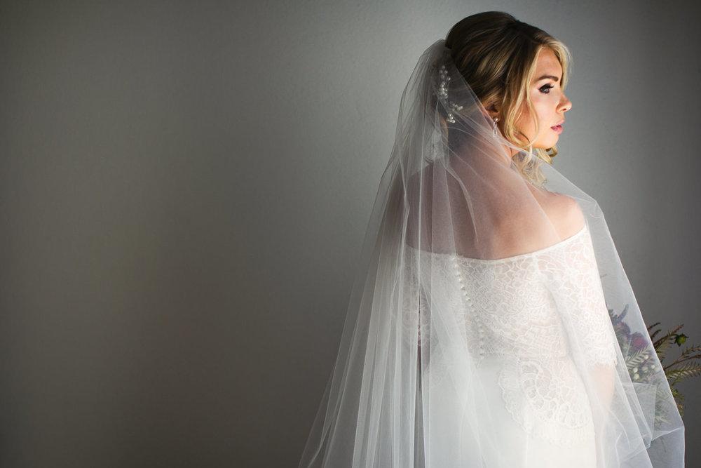 Ebell Long Beach Wedding - Brides amazing dress